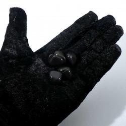 Onyx noir du Brésil - pierres roulées