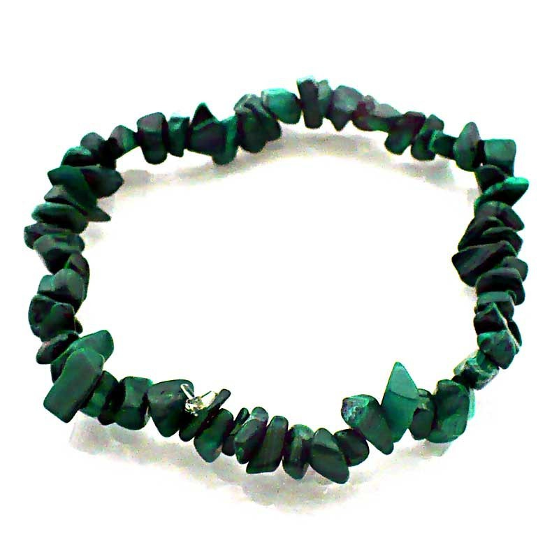 Bracelet baroque Malachite
