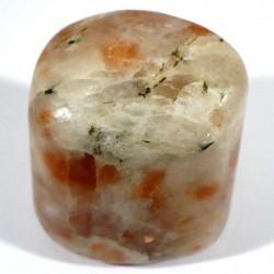Pierre de soleil d'Inde - galet - pierres roulées
