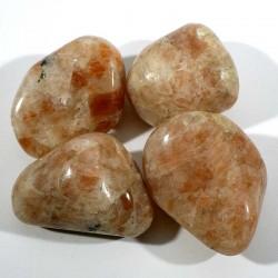 Pierre de soleil d'Inde - pierres roulées