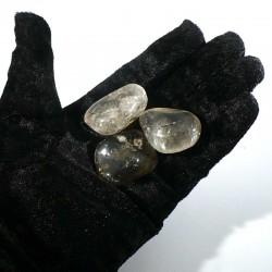 Quartz rutile du Brésil - pierres roulées