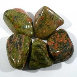 unakite d'Afrique du sud - pierres roulées