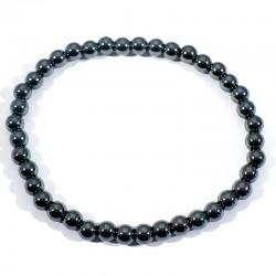 Bracelet enfant en Hématite perles rondes 4mm