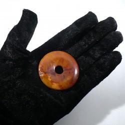 Pendentif donuts en mookaïte 5cm