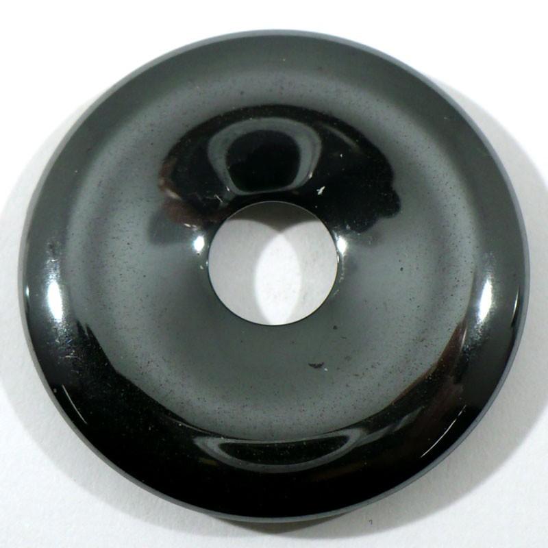 Pendentif donuts en hématite 3cm