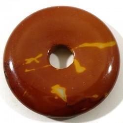 Pendentif donuts en mookaïte 3cm
