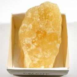 Calcite orange du Mexique - boite de collection 4cm