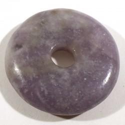 Pendentif donuts en lépidolite 3cm