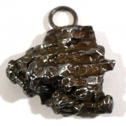 Pendentif en météorite ferro-nickel de campo del cielo - Argentine