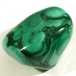 Malachite du Zaïre - pierres roulées