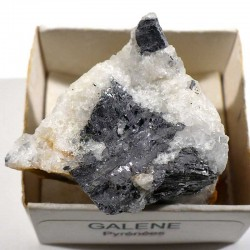 Galène du Maroc - boite de collection 4cm