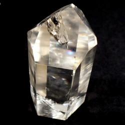 pointe polie en cristal de roche - Brésil