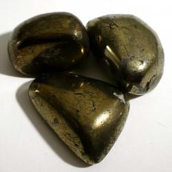 Chalcopyrite du Pérou - pierres roulées
