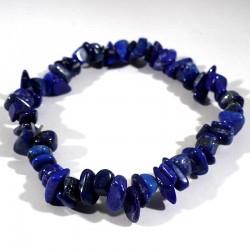 bracelet baroque en lapis-lazuli