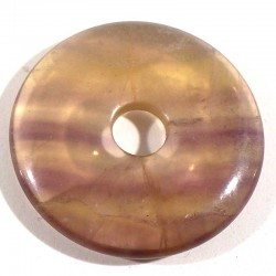 Pendentif donuts en fluorine 3cm