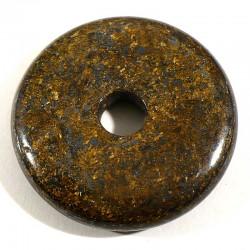 Pendentif donuts en bronzite 3cm