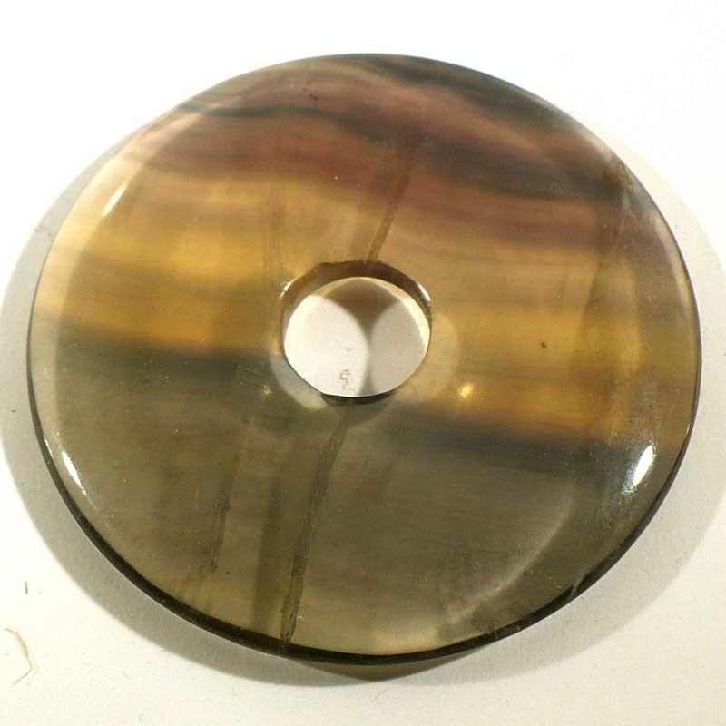 Pendentif donuts en fluorine 5cm