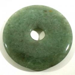 Pendentif donuts en aventurine 5cm