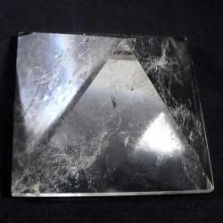 pyramide taillée en cristal de roche 5cm