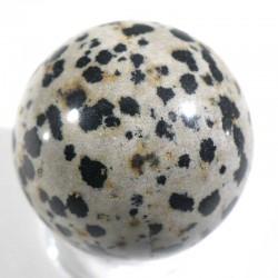 Boule en jaspe dalmatien 3cm