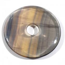 Pendentif donuts en fluorine 4cm