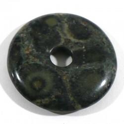 Pendentif donuts en jaspe kambaba 3cm