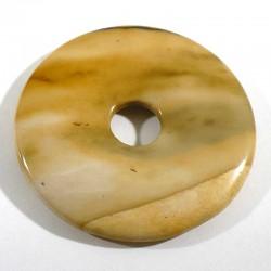 Pendentif donuts en mookaïte 4cm